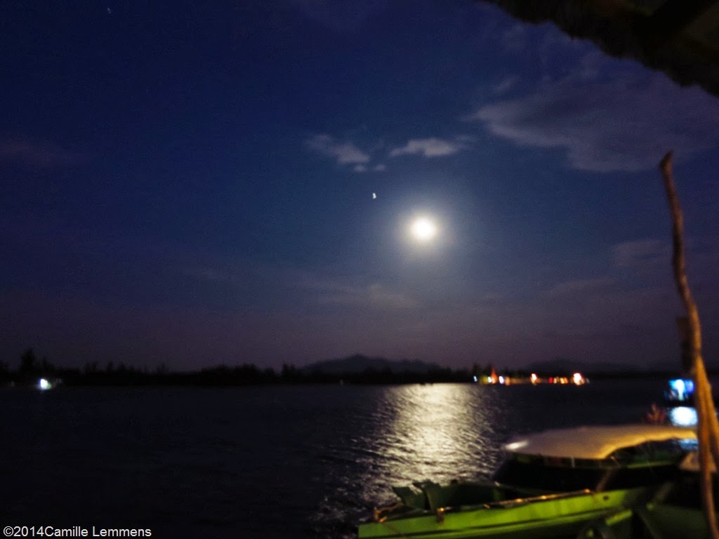 Full moon over Koh Lanta