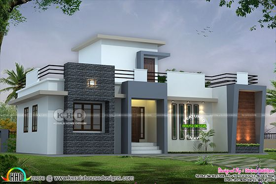 $30,000 cost estimated modern Kerala home