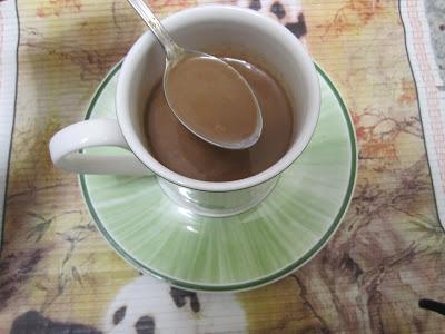 chocolat chaud onctueux, 2 ingrédients lait et chocolat