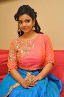 Nithya Shetty in Orange Choli at Kalamandir Foundation 7th anniversary Celebrations ~  Actress Galleries 100.JPG