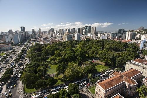 CAMPO DE SANTANA - UM PEDACINHO DE VERDE NA SELVA DE PEDRAS -  O Campo de Santana é uma referência de área verde em pleno Centro da Cidade do Rio.