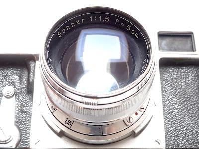 Carl Zeiss Sonnar 50 f/1.5 (1938)