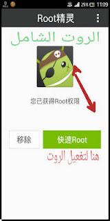 برنامج روت الصيني, تطبيق روت صيني