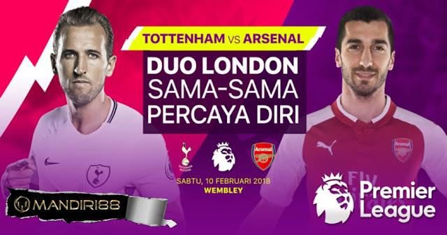 Prediksi Tottenham Hotspur Vs Arsenal, Sabtu 10 February 2018 Pukul 19:30 WIB