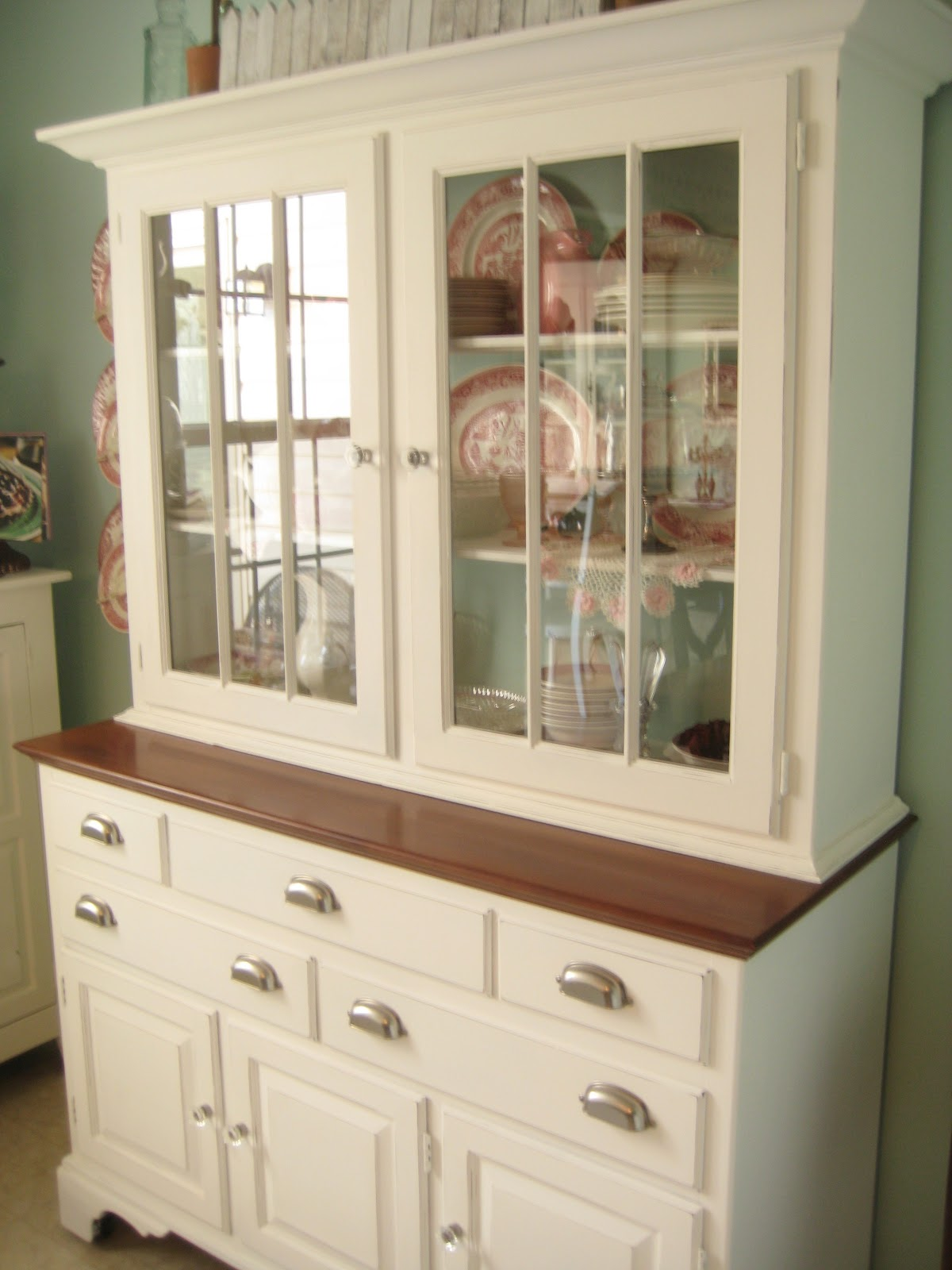 I Probably Have More Buffets Than That To Be Fair Just Really Like China Cabinets What Can Say Here S The One Recently Painted