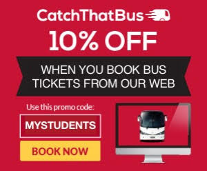 Catch That Bus Discount Promo Code Malaysia Singapore
