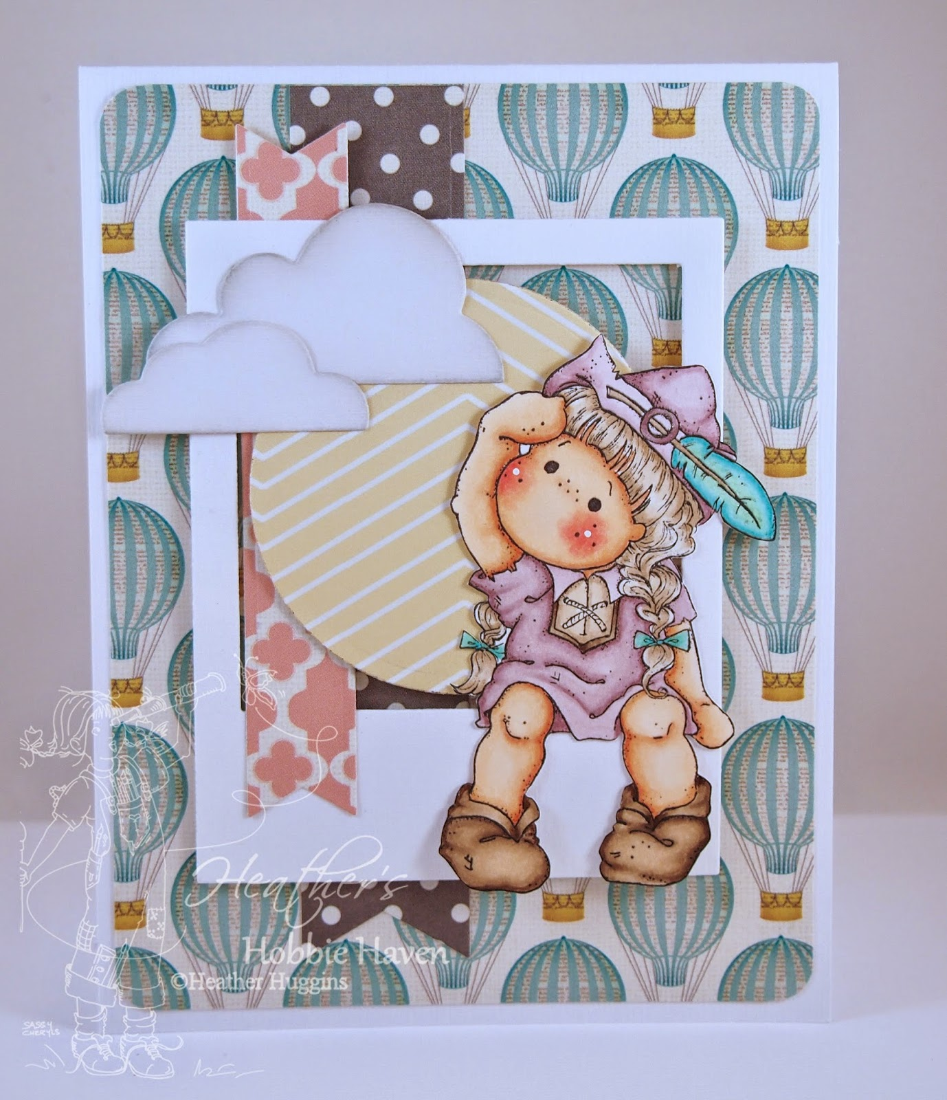 Heather's Hobbie Haven - Beanstalk Tilda Card Kit