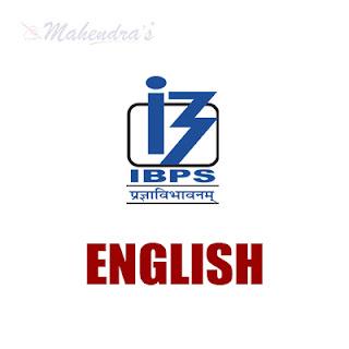 English Language For IBPS PO Mains & Clerk | 16 - 11 - 17