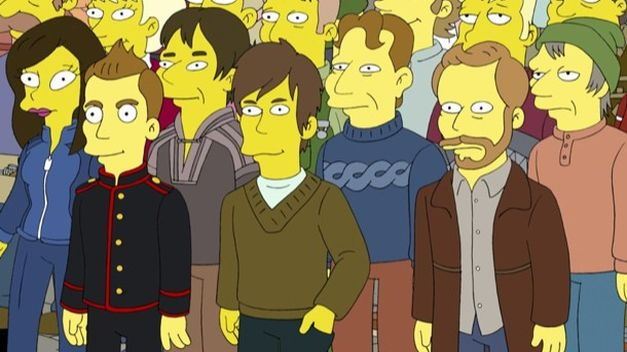Icelandic band Sigur ros in The Simpsons