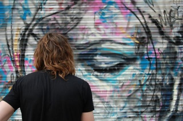 Уличный художник Дэвид Уокер (David Walker) 19