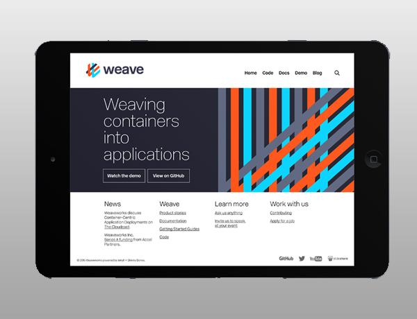 Inspirasi Desain Branding Identity - Weaveworks Branding