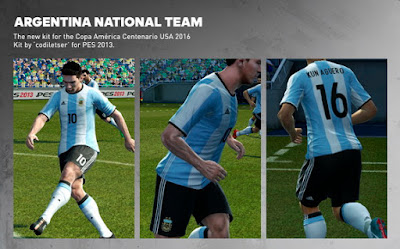 Argentina + Mexico [New Home Kit 2016]