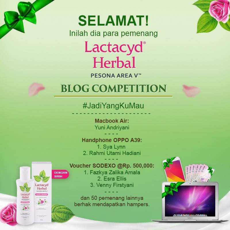 Lactacyd Herbal Blogging Competition