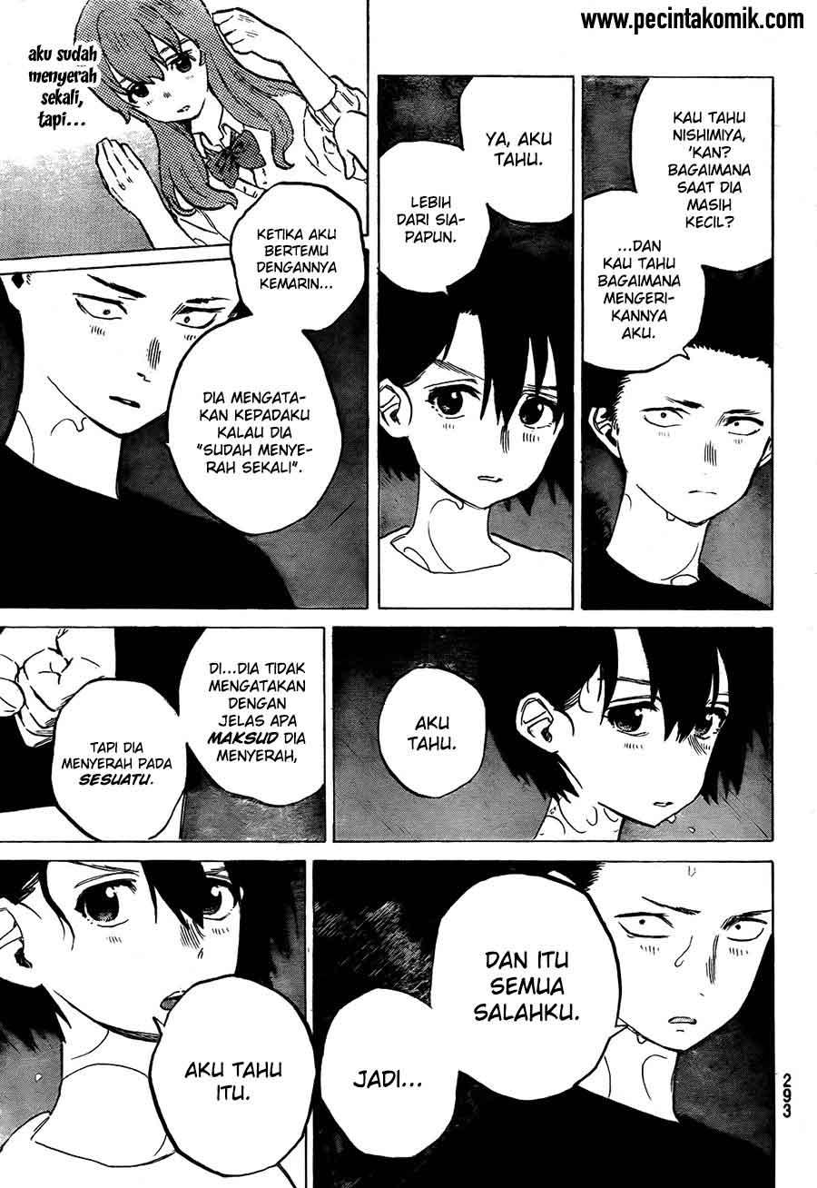 Koe no Katachi Chapter 13-6