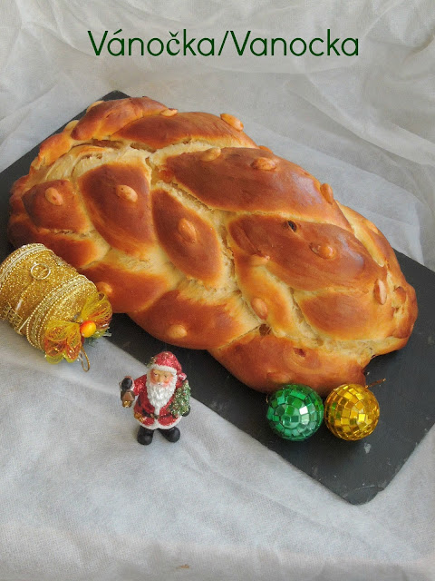 Vánočka,Vanocka, Czech Christmas Bread
