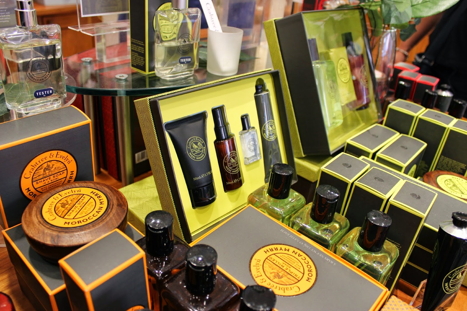 A picture of Father's Day offers and sets at Crabtree & Evelyn