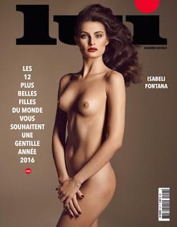 Isabeli Fontana Lui Magazine