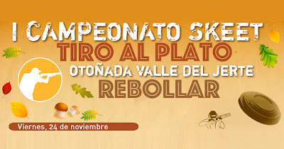 I Campeonato Skeet (Tiro al plato) en el Valle del Jerte. (24 de noviembre 2017)