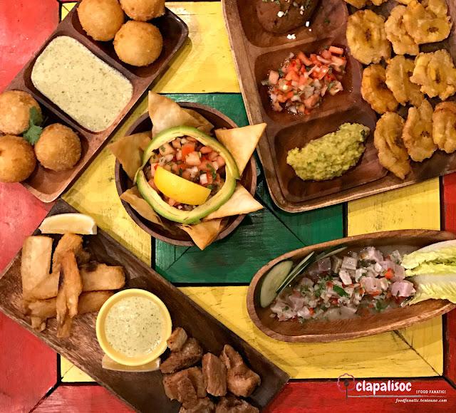 Appetizers from Pura Vida