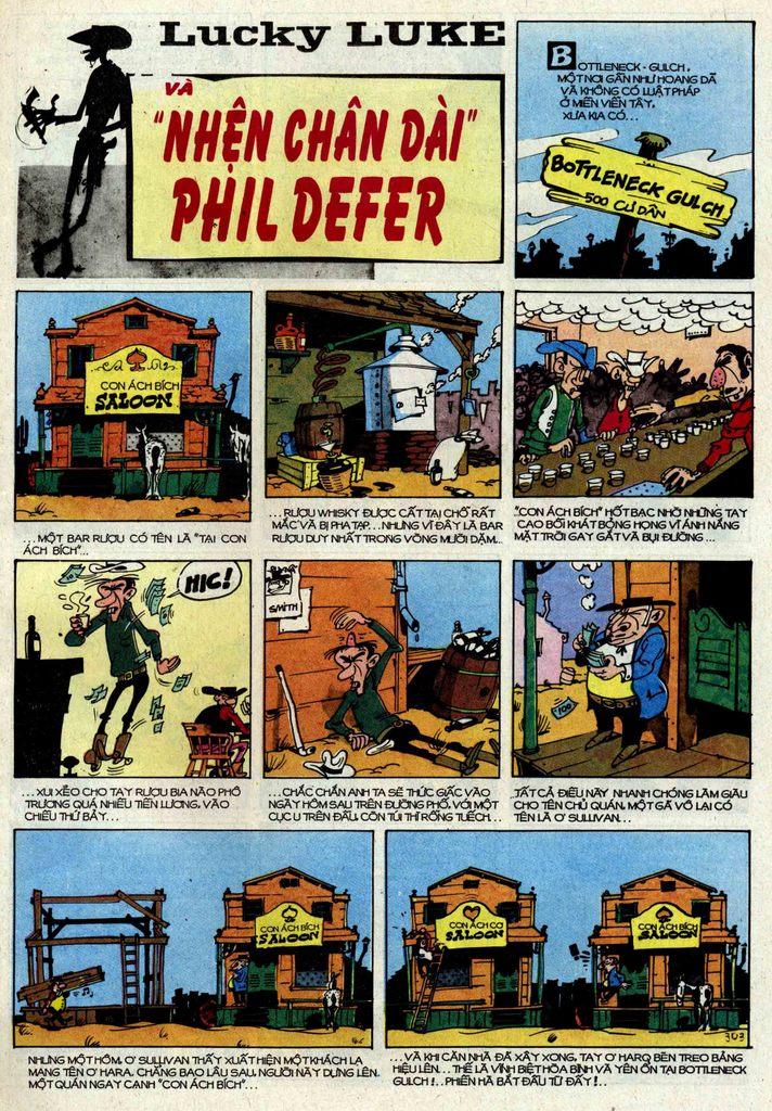Lucky Luke tập 25 - nhện chân dài trang 3