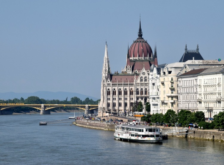 Budapest is considered the pearl of the Danube River. Now I know why. | Ms. Toody Goo Shoes #budapest #danuberivercruise #hungary