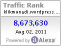 Cara Memasang Alexa Traffic Rank Button di WordPress