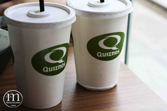 Quiznos beverage cups