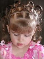 Beautiful hair style for kids}