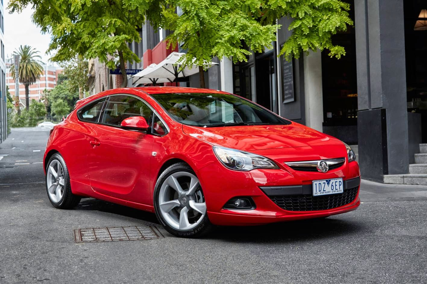 Stylish new Holden Astra GTC in Australia
