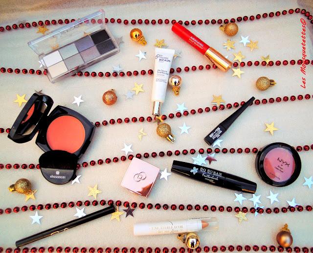Wishlist maquillage pour les fêtes de fin d'année - Les Mousquetettes©