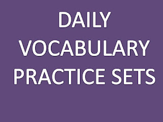 DAILY VOCABULARY PRACTICE SET- 9
