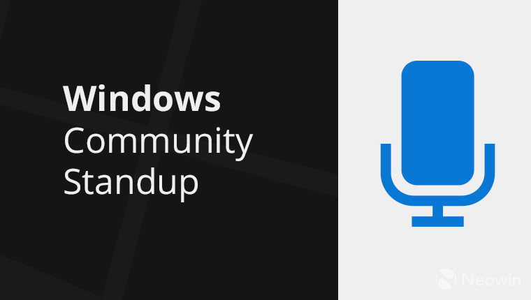 Windows-Community-Standup