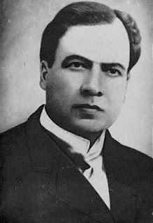 Retrato del escritor nicaragüense Rubén Darío