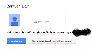 Riset Password Gmail