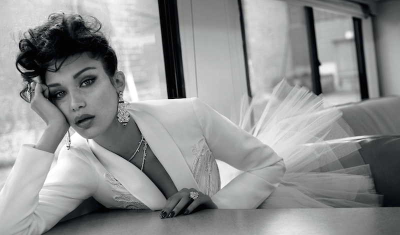 ciao bella: bella hadid by sebastian faena for vogue turkey may 2016