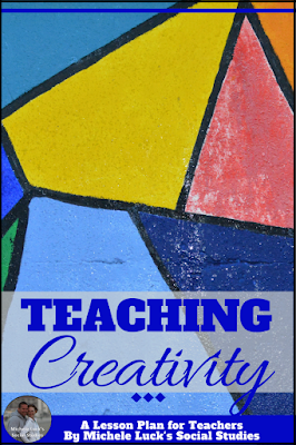 In my Social Studies classroom, creativity was not only allowed, it was appreciated.  Every unit concluded with a culminating project so all students could have the opportunity to show me all they know. Read to see how you can help your students reach success through creativity, too! #teaching #creativity