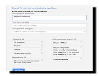 Cara Riset Keyword Untuk Mencari Kata Kunci Di Google AdWord