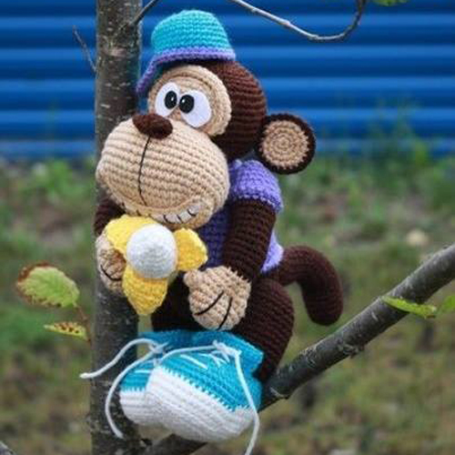 Monkey Amigurumi - Free Pattern