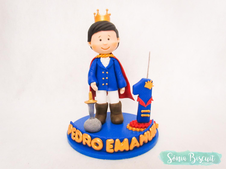 Topo de Bolo, Rei, Principe, Sonia Biscuit, Biscuit