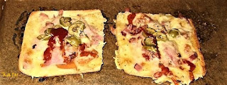 Mini Pizzas Con Pan  De Hamburguesas