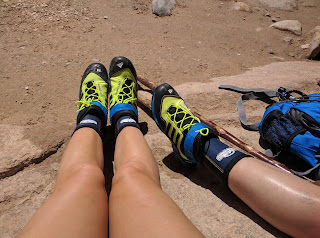 canyoneering wet shoes