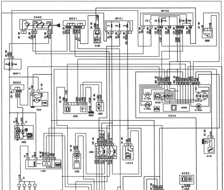 Peugeot 406 Wiring Diagram For Pump. Peugeot. Wiring