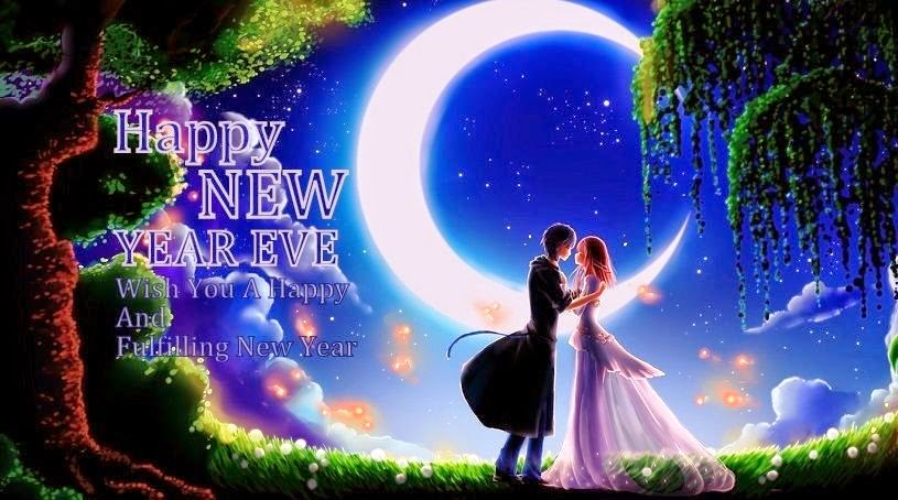 New Year 2019 Blue Moon Evening HD Wallpaper Pictures Whatsapp