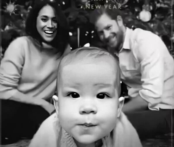 The Duke and Duchess with their 7-month-old son, Archie Harrison Mountbatten-Windsor. Prince Harry and Meghan Markle