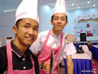 Peserta Cooking Competitions: Coba Dulu Menang Kalah Nanti