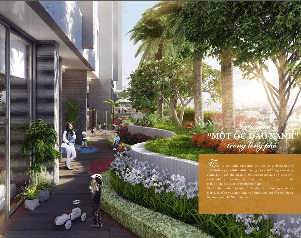Tiện ích cao cấp tại dự án chung cư The Golden Palm