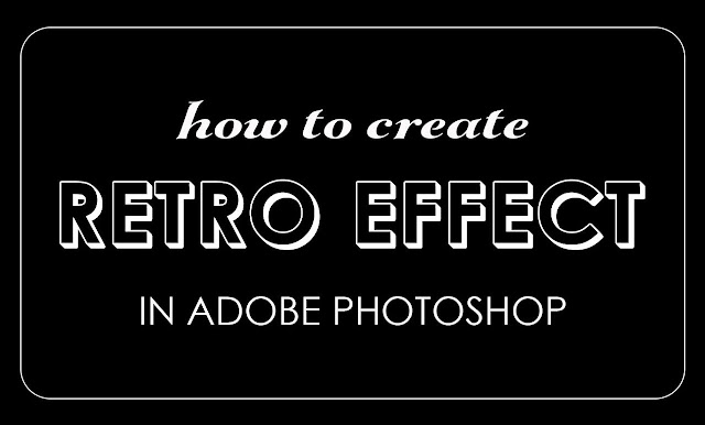 How to Create Cool Retro Style Text Effect in Photoshop With Editable Text