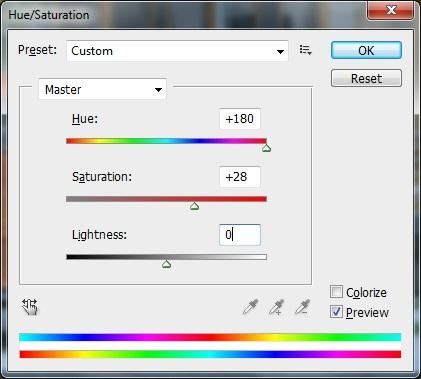 كيف تغير لون أي شيئ بالفوتوشوب