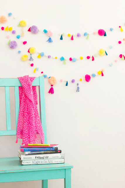 7 Must-Try Colorful DIY Projects /// A Roundup By Faith Towers of Design Fixation