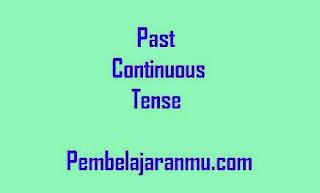 Past Continuous Tense (Penggunaan, Keterangan Waktu dan Susunan Kalimatnya dalam Tenses )
